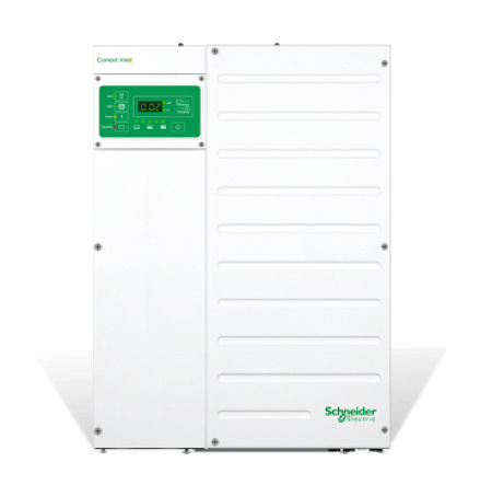 Image of Schneider Conext XW+ 6.8kW 120/240VAC 48VDC Inverter/Charger RNW865684801 - Shop Solar Kits