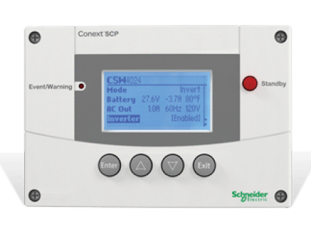 Schneider Electric - Conext System Control Panel - RNW865105001 - Shop Solar Kits