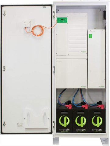 Image of Simpliphi AccESS w/ 3 x PHI 3.5 kWh Batteries w/o CC | A-3PHI-SCH - Shop Solar Kits