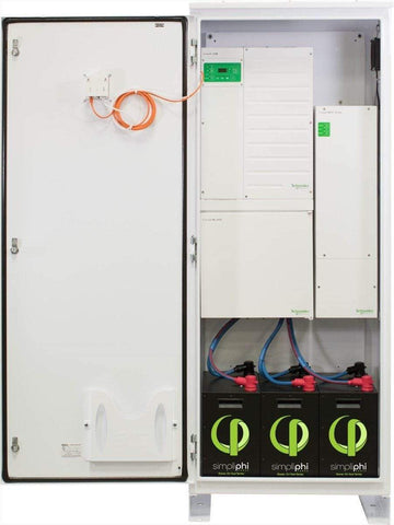 Image of Simpliphi AccESS w/ 4 x Phi 3.5 kWh Batteries & CC - Shop Solar Kits