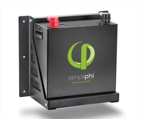 Image of Simpliphi Brackets PHI 2.7 kWh Wall Mount | B-2.7 - Shop Solar Kits