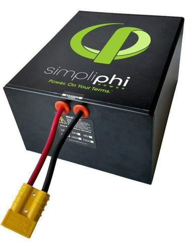 Simpliphi PHI 1.2 kWh High Power LFP Battery, 24V | PHI-1.2-24-160 - Shop Solar Kits