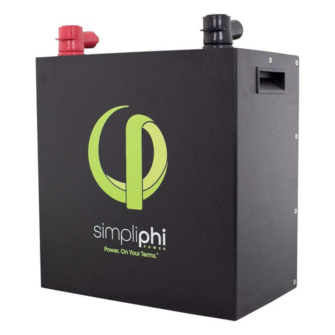 Simpliphi PHI 3.2 kWh High Power LFP Battery, 24V | PHI-3.2-24-160 - Shop Solar Kits