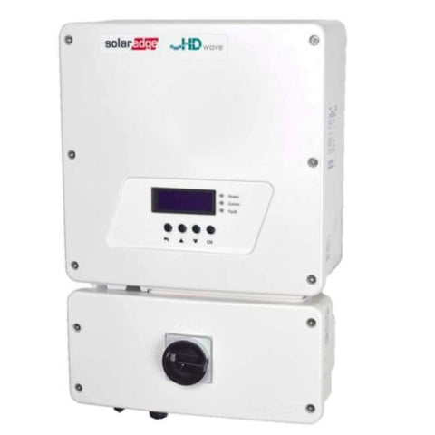 Image of SolarEdge 5kW Solar Inverter - Single Phase - Use with DC Optimizers - SE5000H-US - Shop Solar Kits
