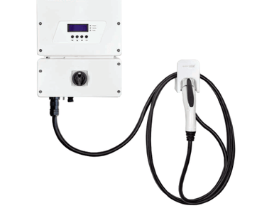 SolarEdge HD Wave EV Charging 3.8kW - With Cable - SE3800H-US000NNV2 - 208/240VAC Inverter SE3800H-US000NNV2 CABLE Solar Edge