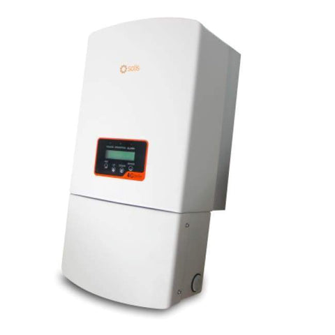 Image of Solis 7.6kW Inverter - Single Phase - 3 MPPT - 208/240VAC - 1P7.6K-4G-US-SA - Shop Solar Kits