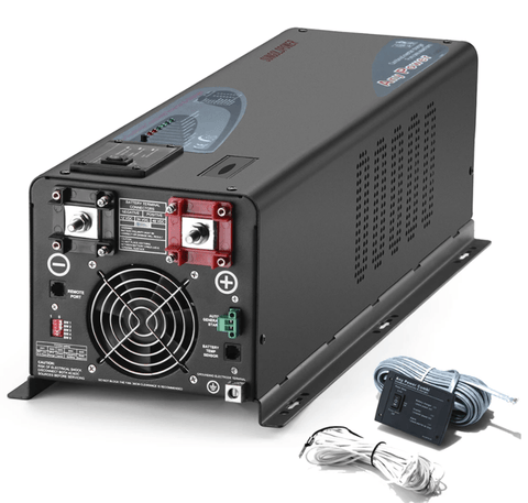 Image of SUNGOLD 4000W DC 12V Split Phase Pure Sine Wave Inverter with Charger SG4000W-DC-12V-SP Sungold
