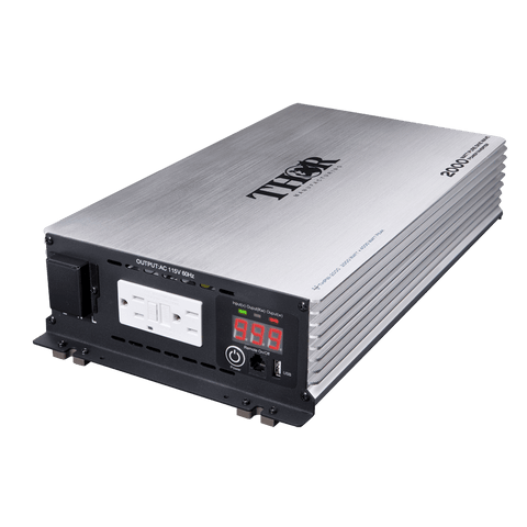 Image of Thor - 2000 Watt 12V Pure Sine Inverter With USB 2.1 - Shop Solar Kits
