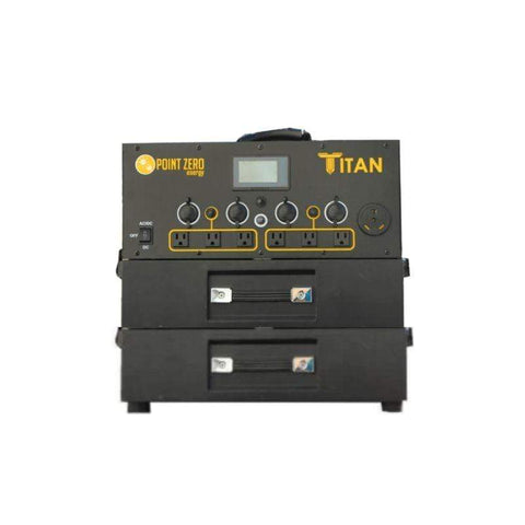 Image of Titan Solar Generator - 4,000wH + Free Shipping & NO Sales Tax [Pre-Order] - Shop Solar Kits