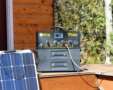 Titan Solar Generator 500 Watt Flexible Solar Kit - Free Shipping & No Tax + Set Up and User Manual - Shop Solar Kits