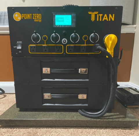 Image of Titan Solar Generator - 6,000wH + Free Shipping & NO Sales Tax [Pre-Order] - Shop Solar Kits