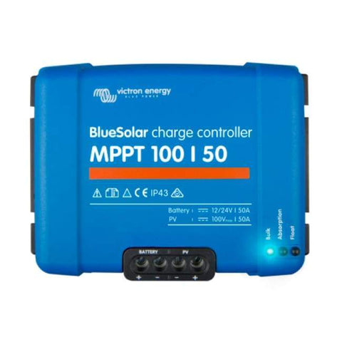 Image of Victron Energy - BlueSolar MPPT Charge Controller 100/50 (12/24V-50A) - Shop Solar Kits