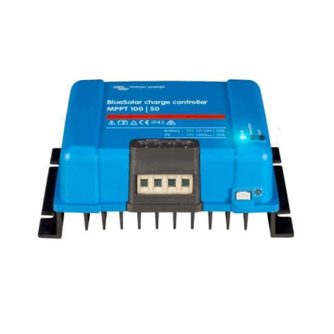 Victron Energy - BlueSolar MPPT Charge Controller 100/50 (12/24V-50A) - Shop Solar Kits