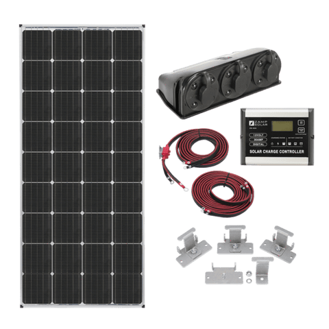 Zamp Solar 170 Watt Roof Mount Kit | KIT1005 + Free Shipping - Shop Solar Kits