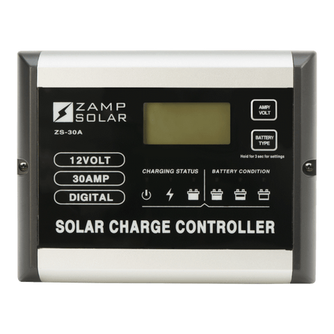 Image of Zamp Solar 30-Amp 5-Stage PWM Charge Controller | ZS-30A + Free Shipping - Shop Solar Kits