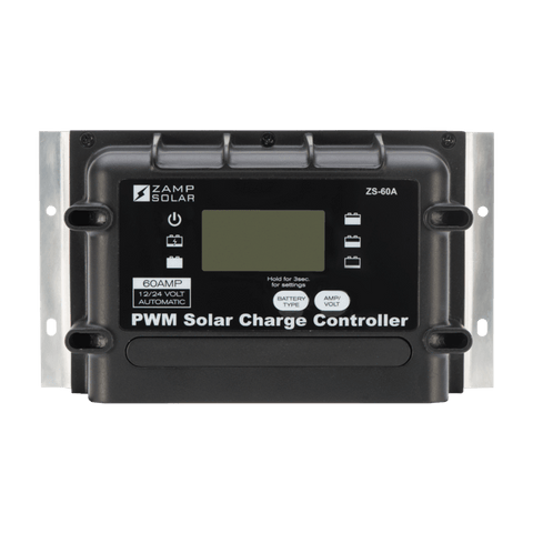 Image of Zamp Solar 60-Amp 5-Stage PWM Charge Controller | ZS-60A + Free Shipping - Shop Solar Kits