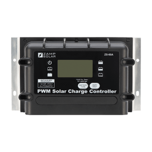 Zamp Solar 60-Amp 5-Stage PWM Charge Controller | ZS-60A + Free Shipping - Shop Solar Kits
