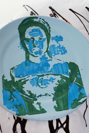Large Stencils Plate #93