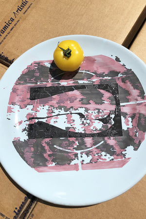 Large Stencils Plate #18