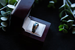 Titanium DNA Ring