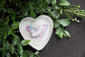 Opal- Pregnancy loss awareness heart