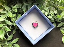 Load image into Gallery viewer, DNA love heart pendant