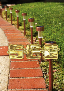Solar Copper LED Path Lights - 10 Piece SEG292