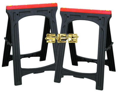 Heavy Duty Foldable Sawhorse 2 Pc
