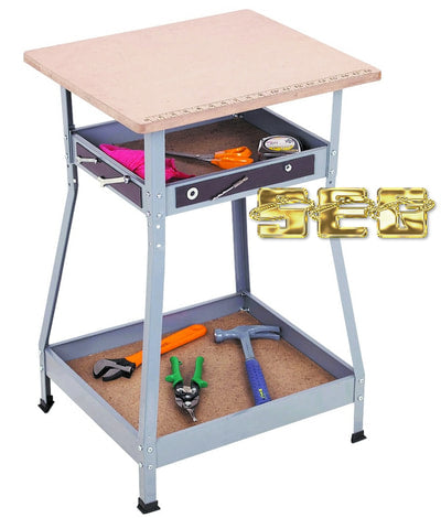 Adjustable Height Heavy Duty Workstation