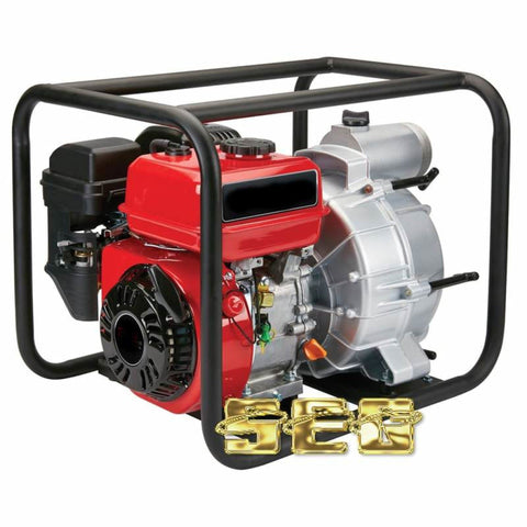 3 in. 212cc Gasoline Engine Semi-Trash Water Pump - 290 GPM