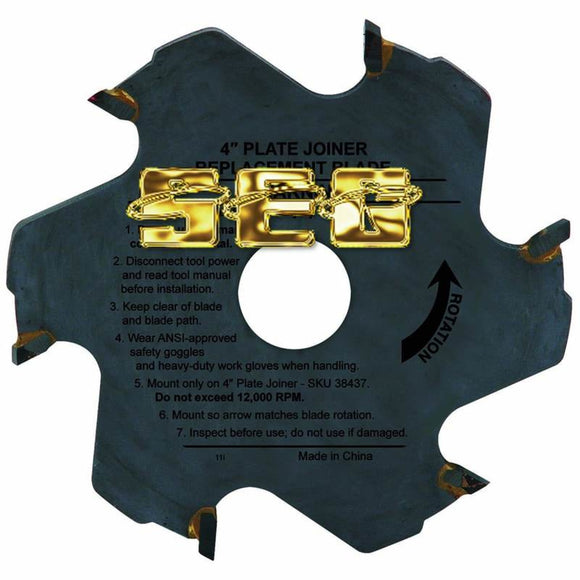 4 in. 6T Plate Joiner Circular Saw Blade