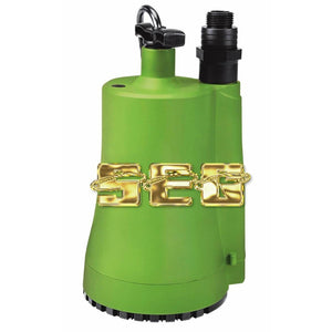 1/3 HP Submersible Utility Pump 2000 GPH