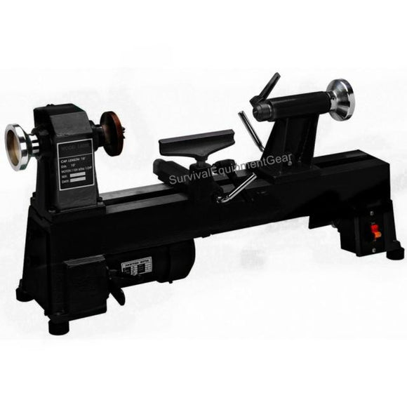 10 in. x 18 in. 5 Speed 1/2 HP Benchtop Wood Lathe  Better then Steelex too SMALL