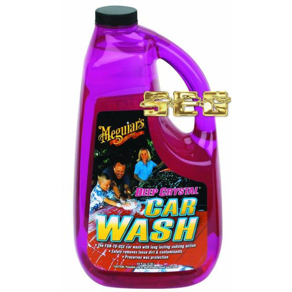 64 Oz. Meguiar's Deep Crystal Car Wash