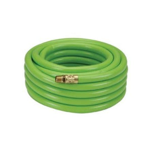 Air Compressor Connection Hose 50 FEET COLOR GREEN 3/8  color191