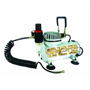 1/6 HP 58 PSI Oilless Airbrush Compressor