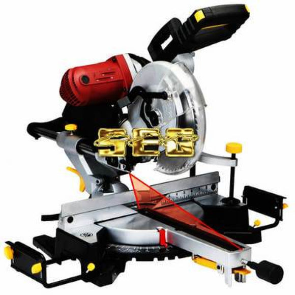 Miter Saw With Laser Guide System SEGMITERSAW114