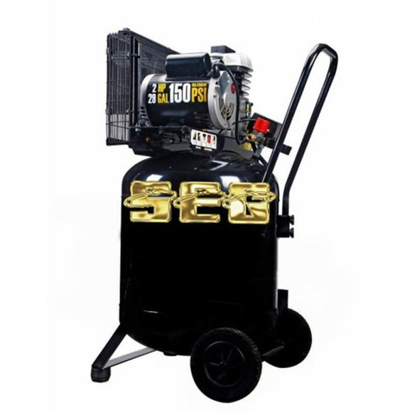 Air Compressor items 29 gal. 2 HP 150 PSI Cast Iron Vertical Air Compressor