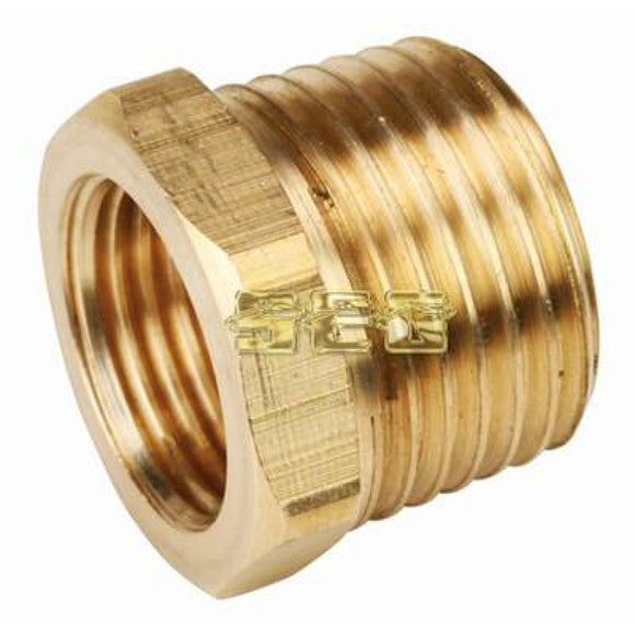 Air Compressor items 1/2 In x 3/8 In Brass Bushing