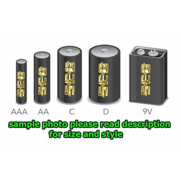 9V Alkaline Batteries 4 Pk