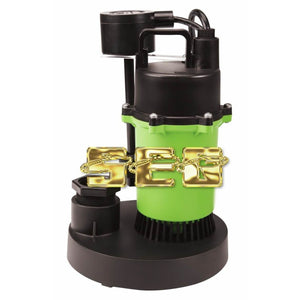 1/2 HP Submersible Sump Pump with Vertical Float 3800 GPH