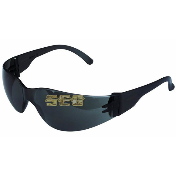 UV Safety Glasses with Smoke Lenses