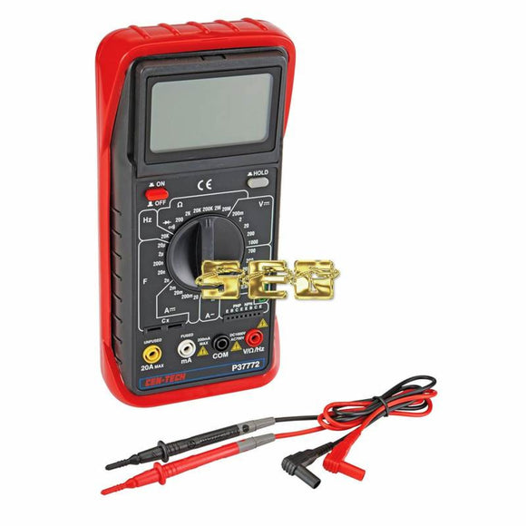 11 Function Digital Multimeter with Audible Continuity SEGMESTEST116