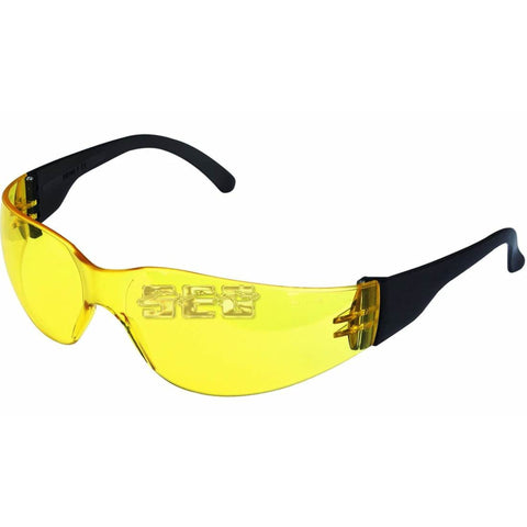 UV Safety Glasses with Yellow Lenses
