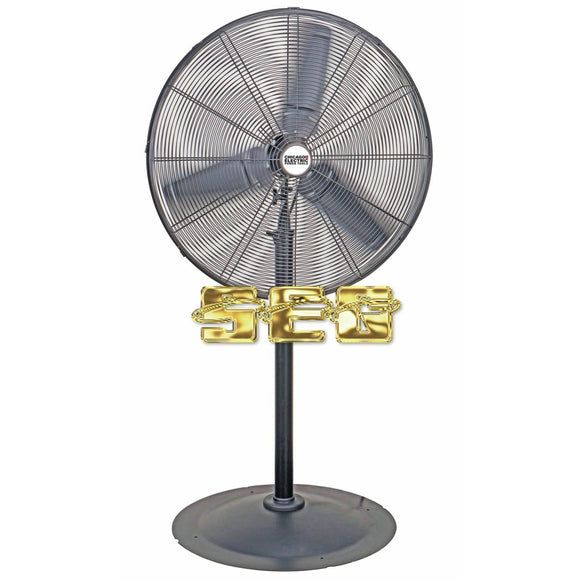 30 in. Pedestal High Velocity Shop Fan SEGGRGWRK111