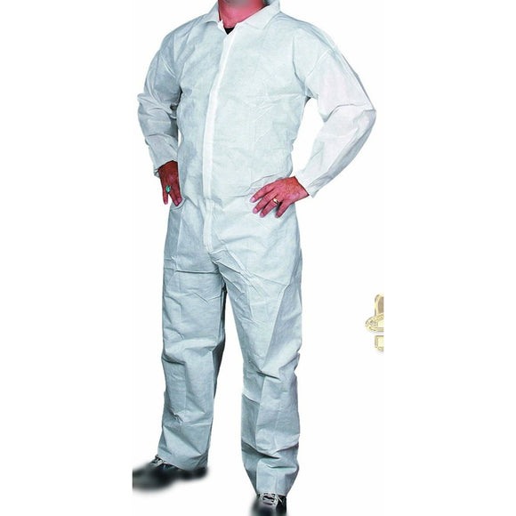 White Coverall, X-Large SEGSAFEV128