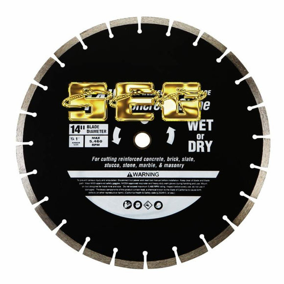 Wet Cut Masonry Saw Blade SEGMITERSW128