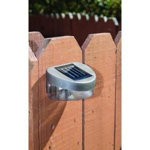 Solar Walkway Or Fence light 2 pc LED Light Save Money