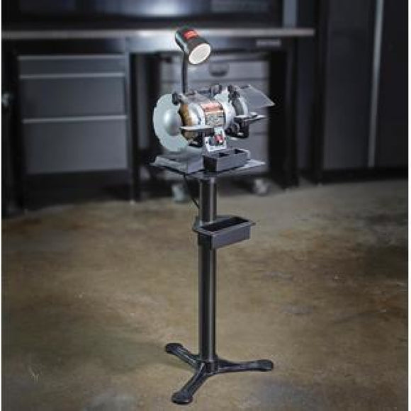 Grinder Stand TIRED OF GRINDING ON TABLE MAKING A MESS? This stand helps great smooth work everytime! Model WX428