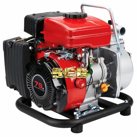 1 in. 79cc Gasoline Engine Clear Water Pump - 35 GPM SEGPLUT501